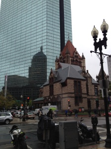 The Old North Church at Copley Square