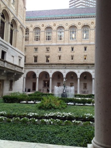 Boston Public Library Interior Patio